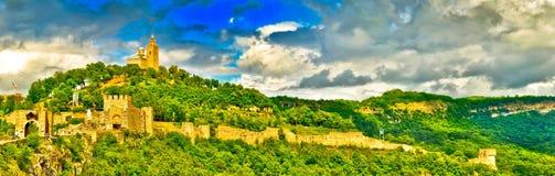tsarevets крепости Стоковая Фотография RF