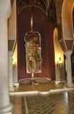 Tsarevets从大特尔诺沃的堡垒内部家长式教会在保加利亚 图库摄影