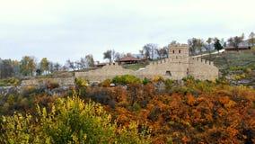 Tsarevets fästning Veliko Tarnovo Arkivfoto