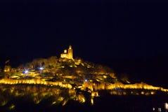 Tsarevets-Festung, Bulgarien Stockbild