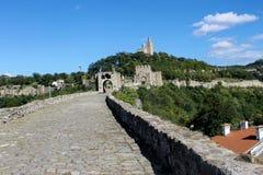 Tsarevets Festung in Veliko Tarnovo lizenzfreies stockbild