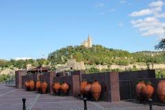 Tsarevets Festung in Veliko Tarnovo Stockbilder
