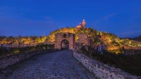 Tsarevets-Festung, Veliko Turnovo, Bugaria stockfotos