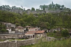 Tsarevets Fort in Veliko Turnovo Royalty Free Stock Images