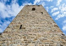Tsarevets forteczny kompleks - kościół zdjęcia royalty free