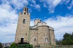 Tsarevets forteczny kompleks - kościół obraz royalty free