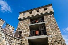 Tsarevets forteczny kompleks - obserwaci wierza zdjęcie stock