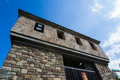 Tsarevets forteczny kompleks - obserwaci wierza obraz royalty free