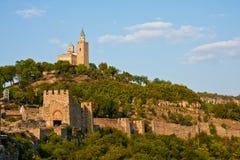 Tsarevets Fortress. Tsarevets fort in Veliko Turnovo, Bulgaria Royalty Free Stock Photography