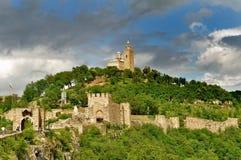 Tsarevets Fortress royalty free stock photography