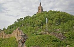 Tsarevets fortress royalty free stock photo