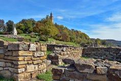 Tsarevets fortress Stock Image