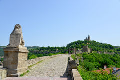 Tsarevets Fortress Tsarevets in Veliko Turnovo Royalty Free Stock Image
