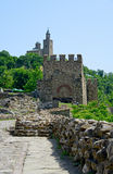 Tsarevets Fortress Tsarevets in Veliko Turnovo Royalty Free Stock Photos
