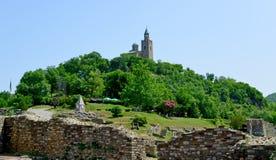 Tsarevets Fortress Tsarevets in Veliko Turnovo Stock Photography