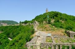 Tsarevets Fortress Tsarevets in Veliko Turnovo Royalty Free Stock Photography