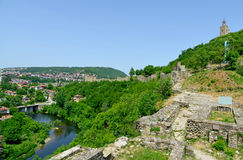 Tsarevets Fortress Tsarevets in Veliko Turnovo Stock Photo