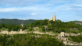 Tsarevets Fortress in Veliko Tarnovo Royalty Free Stock Photography