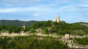 Tsarevets Fortress in Veliko Tarnovo Royalty Free Stock Photography