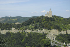 Tsarevets fortress in veliko tarnovo bulgaria Stock Photography