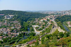 Tsarevets Fortress in Veliko Tarnovo Stock Images