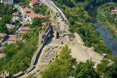 Tsarevets Fortress in Veliko Tarnovo Royalty Free Stock Photos