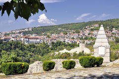 Tsarevets fortress in Veliko Tarnovo, Bulgaria Royalty Free Stock Photography