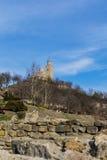 Tsarevets Fortress, Veliko Tarnovo. The Legend for Tsarevets Stock Images