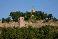Tsarevets Fortress in Veliko Turnovo Royalty Free Stock Images