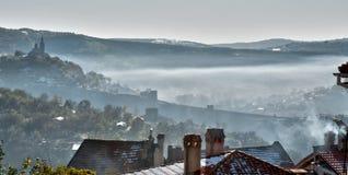 Tsarevets fortress in Veliko Turnovo, Bulgaria Stock Photo