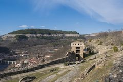 Tsarevets fortress Veliko Tarnovo. Tsarevets is a hill in Veliko Tarnovo, as well as a fortress in the medieval town of Tarnovo Stock Images
