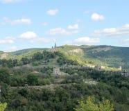 Tsarevets i Veliko Tarnovo från olik vinkel Royaltyfria Bilder