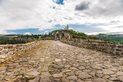 Tsarevets, Veliko Tarnovo, Bulgaria. Tsarevets is a medieval stronghold located on a hill with the same name in Veliko Tarnovo in northern Bulgaria. It served as stock images
