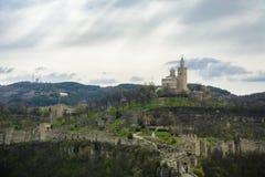Tsarevets stronghold. In the city of Veliko Tarnovo,Bulgaria Stock Photo