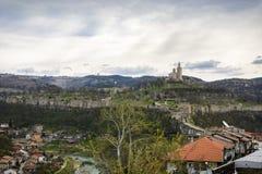 Tsarevets stronghold. In the city of Veliko Tarnovo,Bulgaria Royalty Free Stock Photography