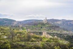 Tsarevets stronghold. In the city of Veliko Tarnovo,Bulgaria Stock Photos