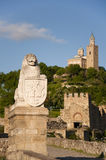 Tsarevets, Veliko Tarnovo, Bulgaria Fotografie Stock Libere da Diritti