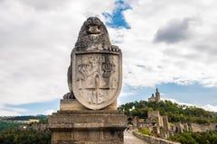 Tsarevets, Veliko Tarnovo, Bulgarie Image libre de droits