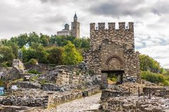 Tsarevets, Veliko Tarnovo, Bulgarie photo stock
