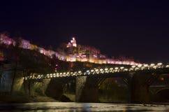 Tsarevts堡垒在保加利亚 库存照片