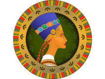 Tsarina of Egypt Nefertiti Stock Photography