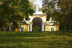 Tsaritsino公园合奏  库存照片