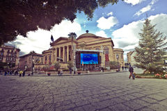 tsaritsino οπερών της Μόσχας σπιτιών Θέατρο Massimo Vittorio Emanuele Teatro Στοκ φωτογραφία με δικαίωμα ελεύθερης χρήσης