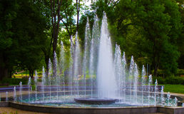tsaritsino парка moscow фонтана Стоковые Изображения RF