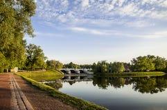 tsaritsino för slottmoscow park Royaltyfria Foton