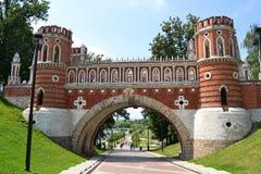 tsaritsino moscow моста Стоковое Изображение