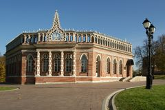 Tsaritsino museum and reserve in Moscow Royalty Free Stock Photography