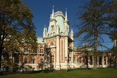 Tsaritsino museum and reserve in Moscow Royalty Free Stock Images