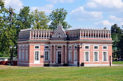 Tsaritsino museum and reserve in Moscow Stock Photos