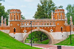 Tsaritsino palace Stock Image